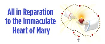 Communal First Saturdays Reparation to the Immaculate Heart of Mary
